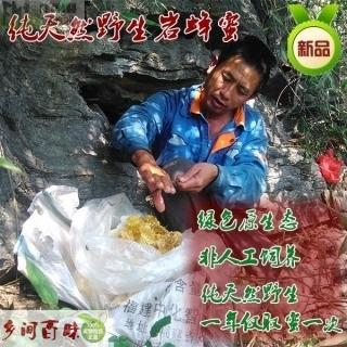 河北石家庄|保定|沧州天然野生蜂蜜岩蜂蜜 极品土蜂蜜保健美容首选品